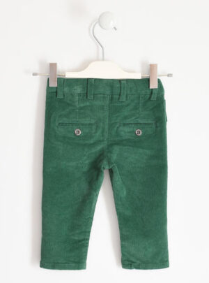 Pantalone invernale in velluto stretch per bambino da 3 a 7 anni Sarabanda