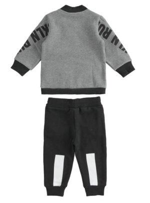 """Tuta modello jogging in felpa """"Bkln Run"""" per bambino da 3 a 7 anni Sarabanda"""