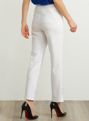 Pantaloni stile Capri a vita alta