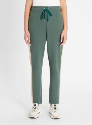 Pantaloni in jersey di viscosa