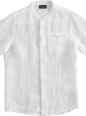 Camicia lino Junior maschio Sarabanda 08-16 anni