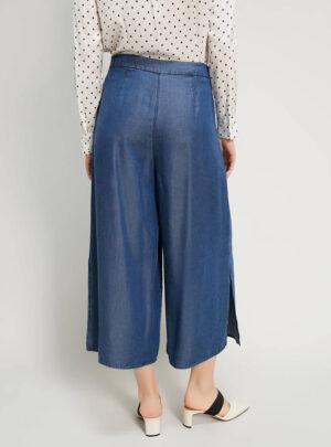 Jeans ampi e fluidi