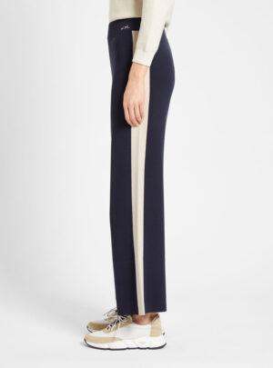 Pantaloni in filato di viscosa