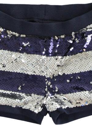 Shorts paillettes bambina Sarabanda 03-07 anni