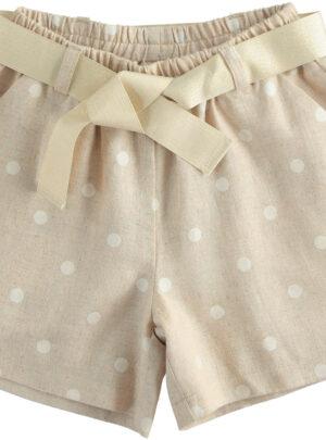 Shorts bambina Sarabanda 03-07 anni