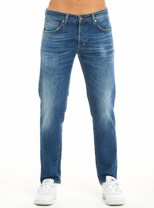 Blue jeans cinque tasche slim fit