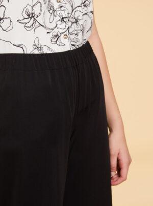 Pantaloni in jersey interlock