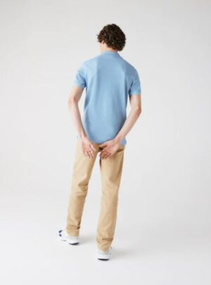 Polo Lacoste di taglio attillato in petit piqué slim fit