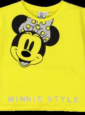 Maglia Minnie gialla