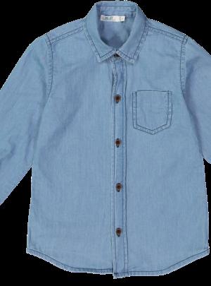 Camicia effetto Jeans