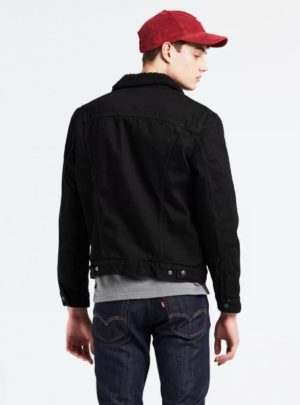 Giacca Jeans Nera