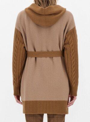 Cardigan in filato di lana