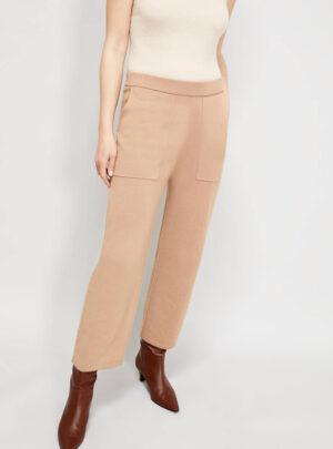 Pantaloni morbidi in maglia